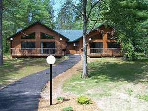 Northern wisconsin vacation rental timber cove i for Northwoods wisconsin cabin rentals